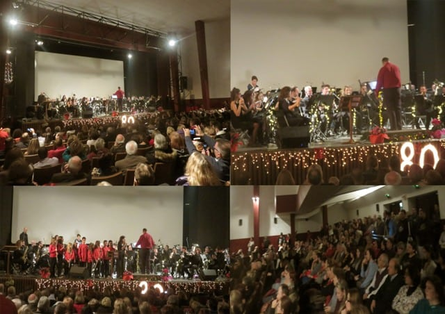 Κατάμεστο το  Δημοτικό Κινηματοθέατρο «Άρτεμις», στην καθιερωμένη συναυλία της Φιλαρμονικής, του Δήμου Μαρκοπούλου.