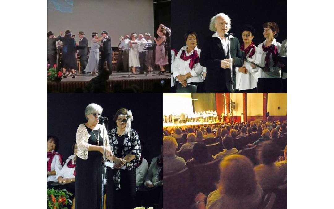 Κατάμεστο το Δημοτικό Κινηματοθέατρο «Άρτεμις»,  στην γιορτή Κ.Α.Π.Η. Δήμου Μαρκοπούλου, με θέμα την «Παλιά Αθήνα»!