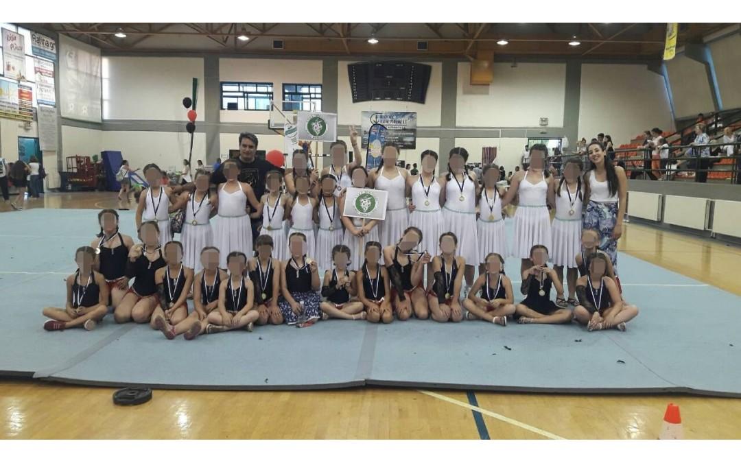 Κατενθουσίασαν οι συμμετοχές των τμημάτων του Ν.Π.Δ.Δ. «Βραυρώνιος»,  στα Πανελλήνια Φεστιβάλ Γυμναστικής!