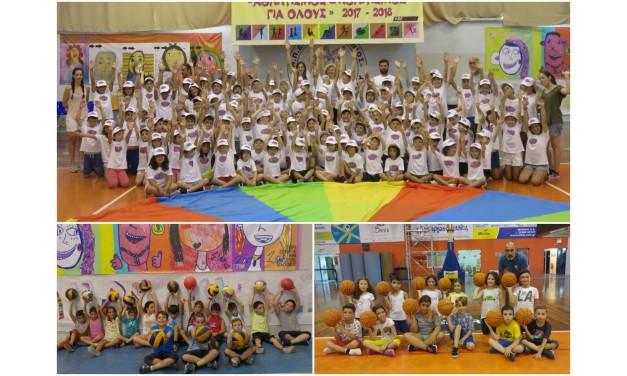 Συνεχίζονται με την 3η περίοδο, οι Καλοκαιρινές  Αθλητικές και Πολιτιστικές Ενασχολήσεις για παιδιά, του Δήμου Μαρκοπούλου.
