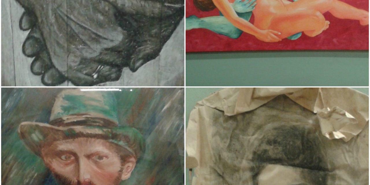 Εντυπωσίασε η έκθεση δημιουργίας, των τμημάτων Ζωγραφικής Ενηλίκων,  του «Προγράμματος Αθλητισμός και Πολιτισμός για όλους» !