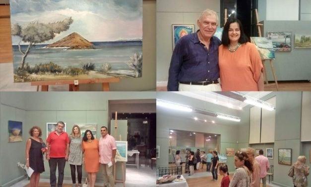 Άκρως επιτυχημένη η Έκθεση Ζωγραφικής του συμπολίτη μας, Ανδρέα Δάρα  στο Πολιτιστικό Κέντρο του Δήμου Μαρκοπούλου.