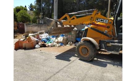 Συγκεκριμένα αποτελέσματα κάθε ημέρα, μετά την αναδιοργάνωση της Υπηρεσίας Καθαριότητας του Δήμου Μαρκοπούλου!