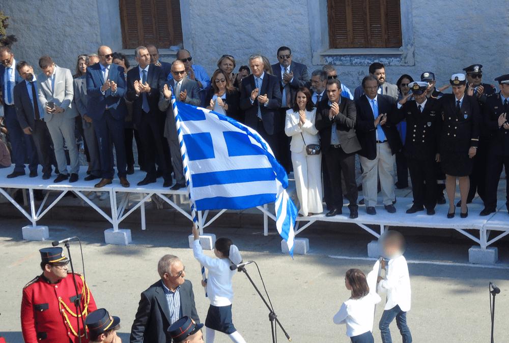 Με πλήρη επισημότητα και επιτυχία πραγματοποιήθηκαν οι επετειακές εκδηλώσεις της 28ης Οκτωβρίου στον Δήμο Μαρκοπούλου