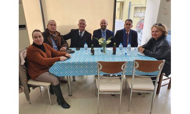 Κοπή βασιλόπιτας Χορωδίας Κ.Α.Π.Η. Δήμου Μαρκοπούλου!