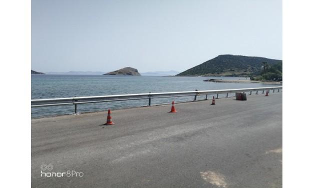 Αντικατάσταση στηθαίων ασφαλείας στη λεωφόρο Αυλακίου