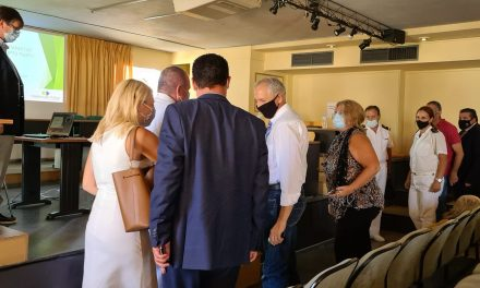 Σε συνάντηση για την κατασκευή αγκυροβολίου στο λιμάνι στο Πόρτο Ράφτη συμμετείχε ο Αντιπεριφερειάρχης Ανατολικής Αττικής Θανάσης Αυγερινός