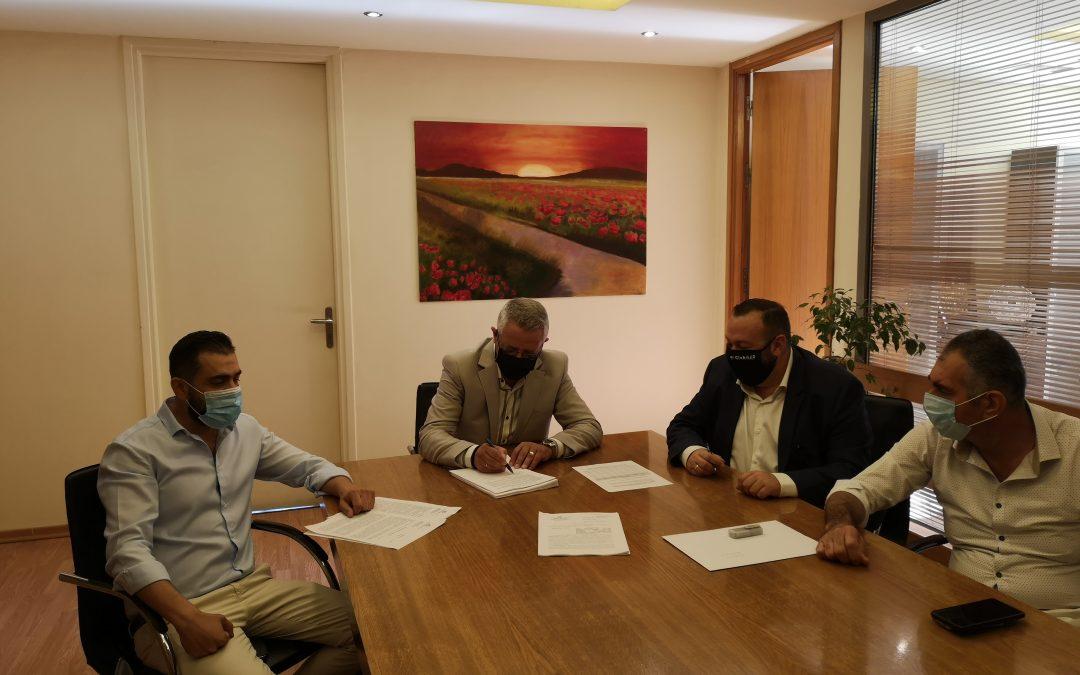 Υπογραφή σύμβασης για την εγκατάσταση 6.000 φωτιστικών LED στον Δήμο Μαρκοπούλου!
