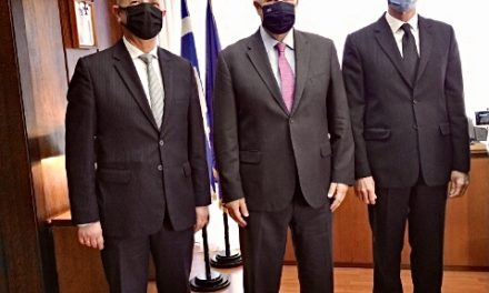 Σε εγκάρδιο κλίμα η συνάντηση του Δημάρχου Μαρκοπούλου με τον νέο Υπουργό Εσωτερικών Μάκη Βορίδη