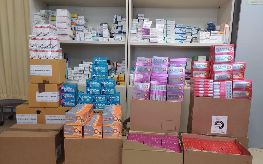 Αξιόλογη προσφορά στο Κοινωνικό Φαρμακείο του Δήμου Μαρκοπούλου σε μη συνταγογραφούμενα φάρμακα για παιδιά και ενήλικες
