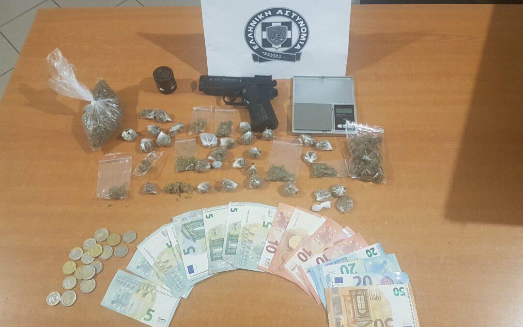 Ενημέρωση σχετικά με σύλληψη 2 ατόμων στο Πόρτο Ράφτη, για διακίνηση ναρκωτικών ουσιών