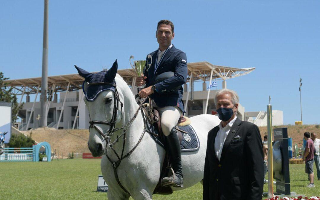 Ελληνική Ομοσπονδία Ιππασίας: Με το δεξί οι Έλληνες στο «Athens Equestrian Festival 2021»!