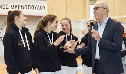 Μήνυμα του προέδρου του ΑΟΜ, ενόψει του μεγάλου τελικού πανελληνίου πρωταθλήματος κοριτσιών Κ18 στο Μουζάκι