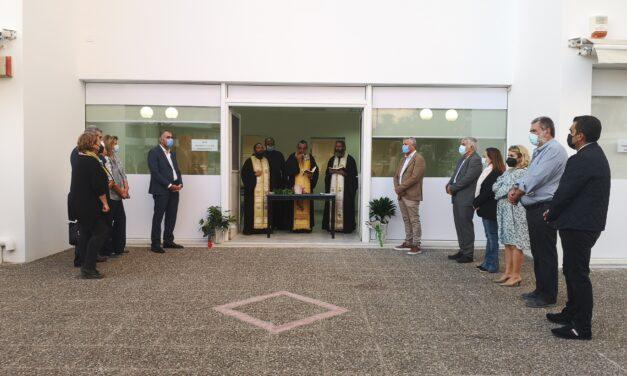 Εγκαινιάστηκαν οι νέες αίθουσες του Δ.Ι.Ε.Κ. Μαρκοπούλου